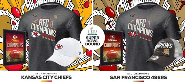 Superbowl SF 49ers and KC Chiefs