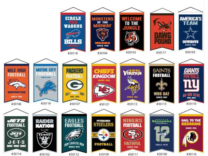 NFL Banners