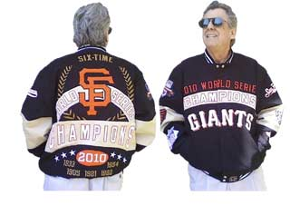 Giants Championship Jacket