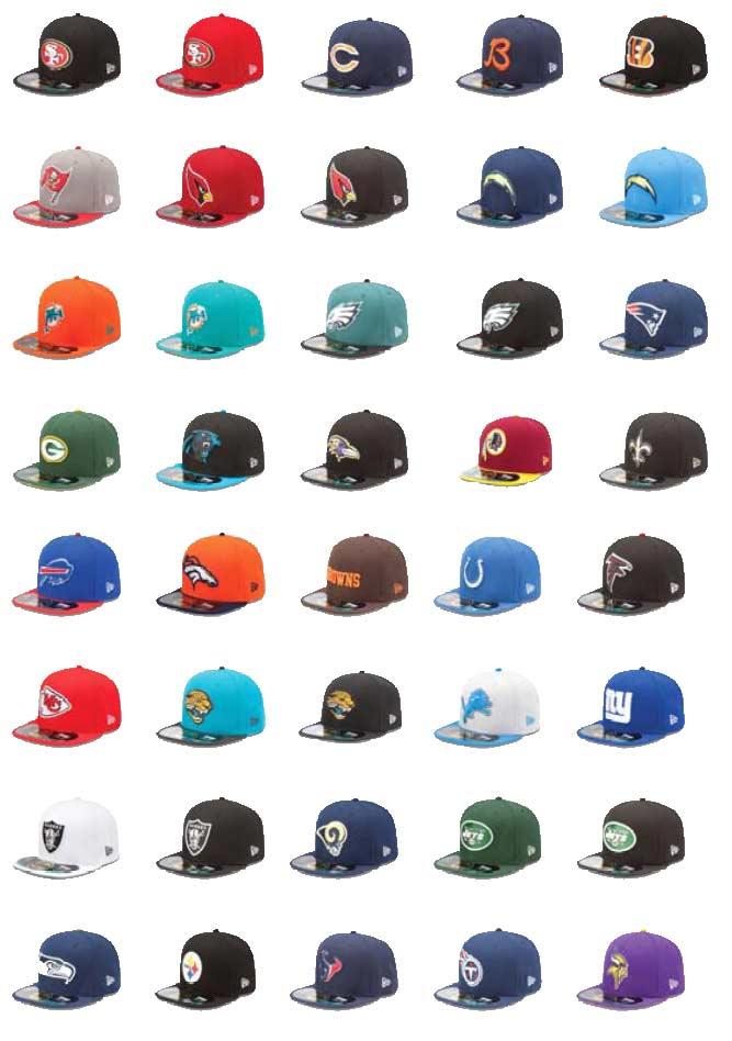 Nfl Caps Art S Pro Sports Apparel