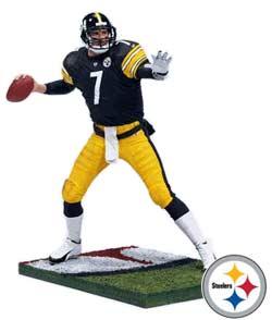 McFarlane NFL Roethlisberger Figurine