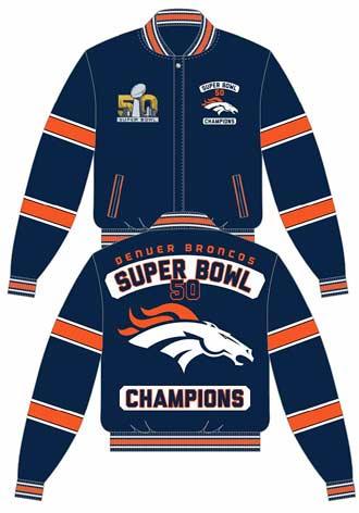 Denver Broncos leather jacket
