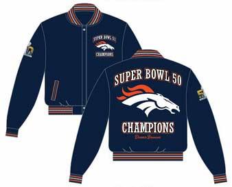 Denver Broncos wool jacket